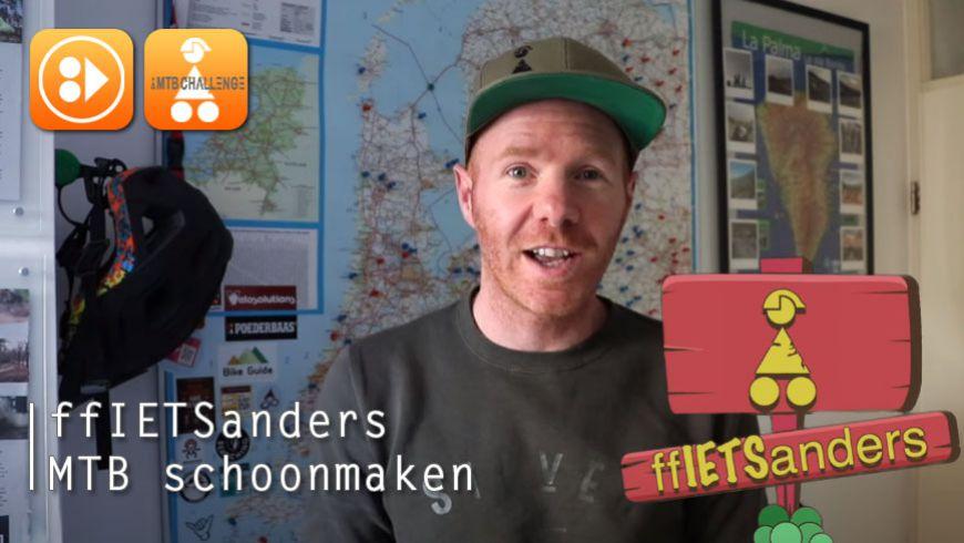 ffIETSanders - MTB schoonmaken