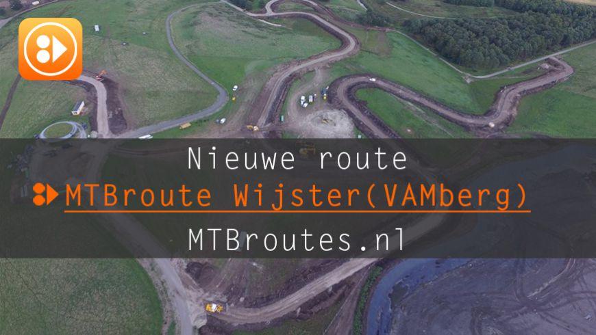 Nieuwe MTBroute Wijster(VAM berg)