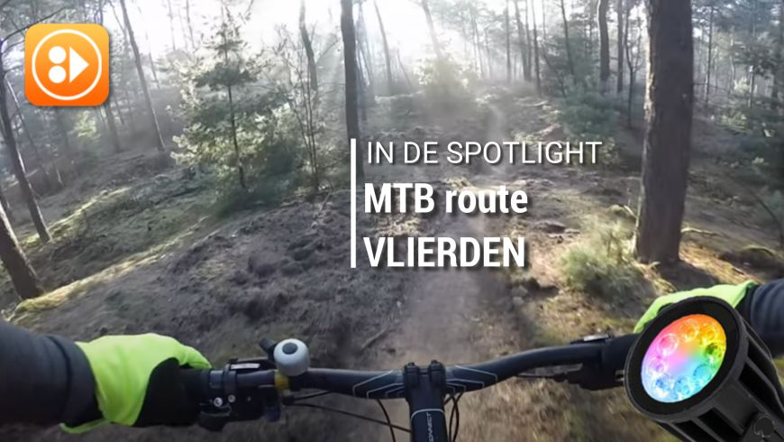 In de spotlight: MTBroute Vlierden