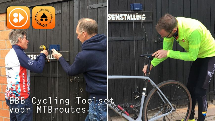 BBB Cycling Toolset voor MTBroutes