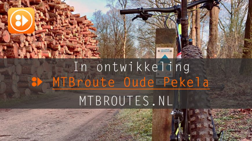 In ontwikkeling MTBroute Oude Pekela