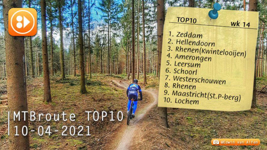 MTBroute TOP10 bijgewerkt 10-04-2021