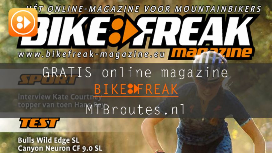 Bikefreak-magazine nummer 102 is uit!