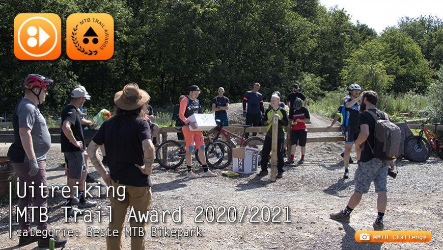 Uitreiking MTB Trail Awards - categorie: Beste Bikepark 2020/2021