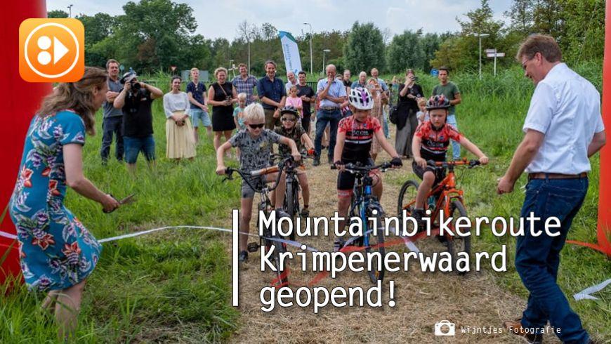 Mountainbikeroute Krimpenerwaard geopend: 'mtb'en in de achtertuin'