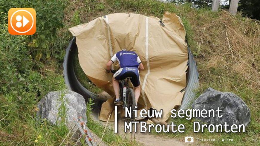 Nieuw geopend segment MTB-route Dronten biedt spektakel