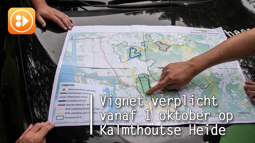 Vignet verplicht vanaf 1 oktober op Kalmthoutse Heide