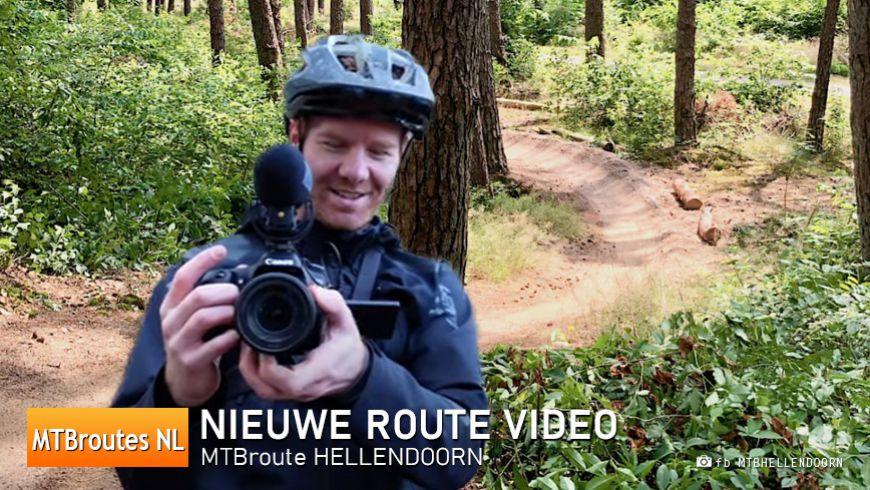 Nieuwe Video MTBroute Hellendoorn