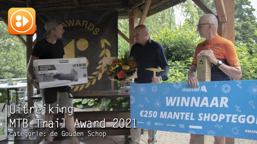 Uitreiking MTB Trail Awards - categorie: de Gouden Schop 2020/2021