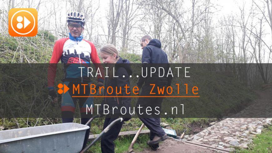 Groot onderhoud MTBroute Zwolle