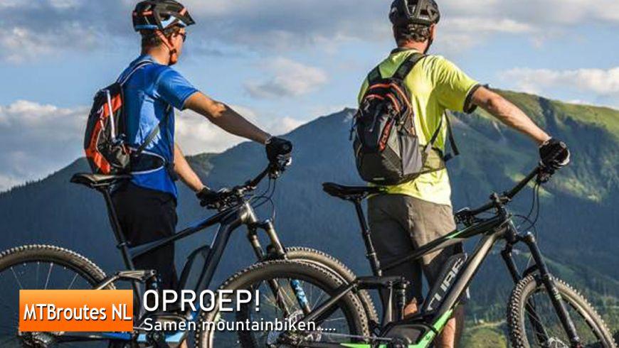 Oproep: Samen mountainbiken