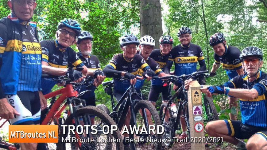 Lochem trots op MTB Trail Award