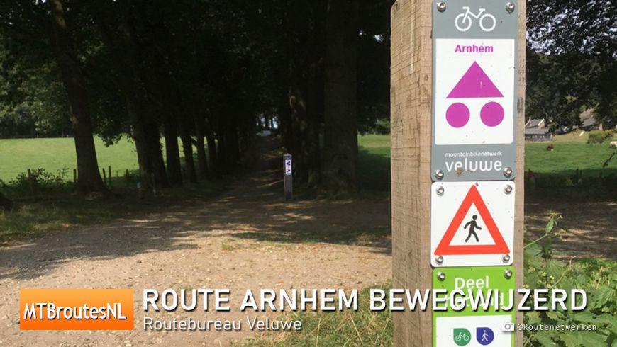 MTBroute Arnhem bewegwijzerd
