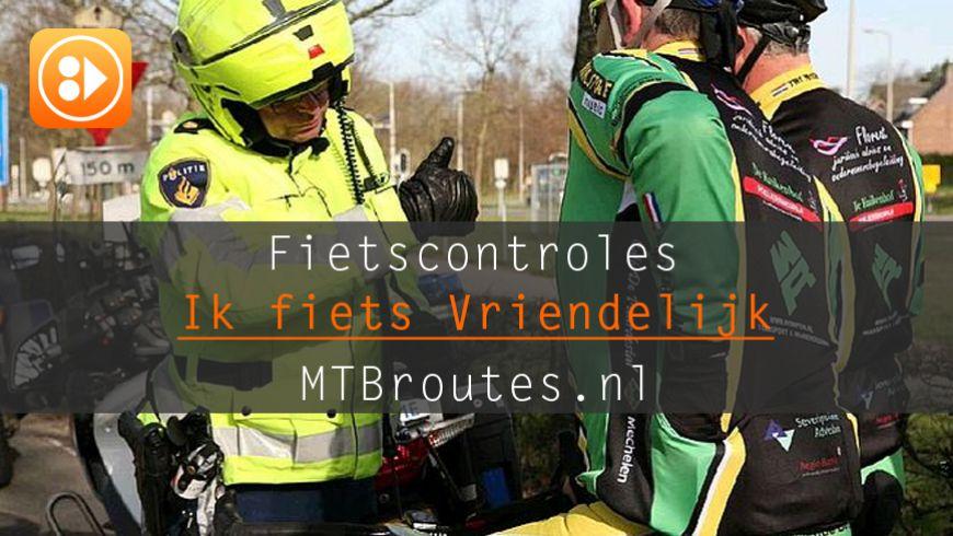 Ook in 2019 fietscontroles in het Heuvelland