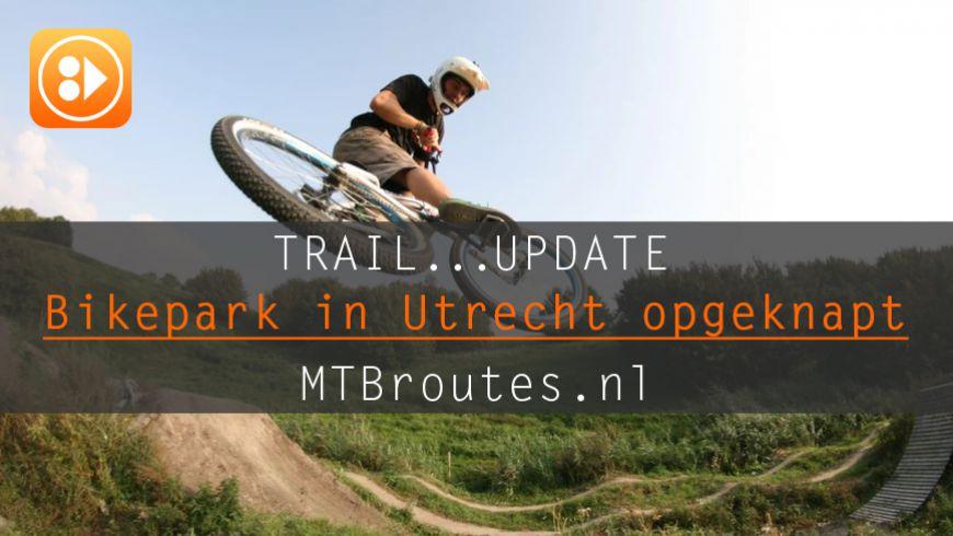 Bikepark in Utrecht opgeknapt