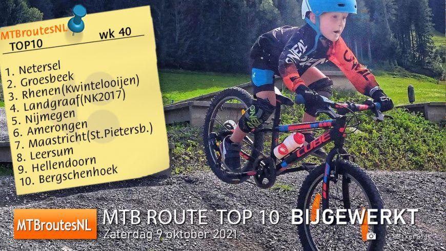 MTBroute TOP10 bijgewerkt 09-10-2021