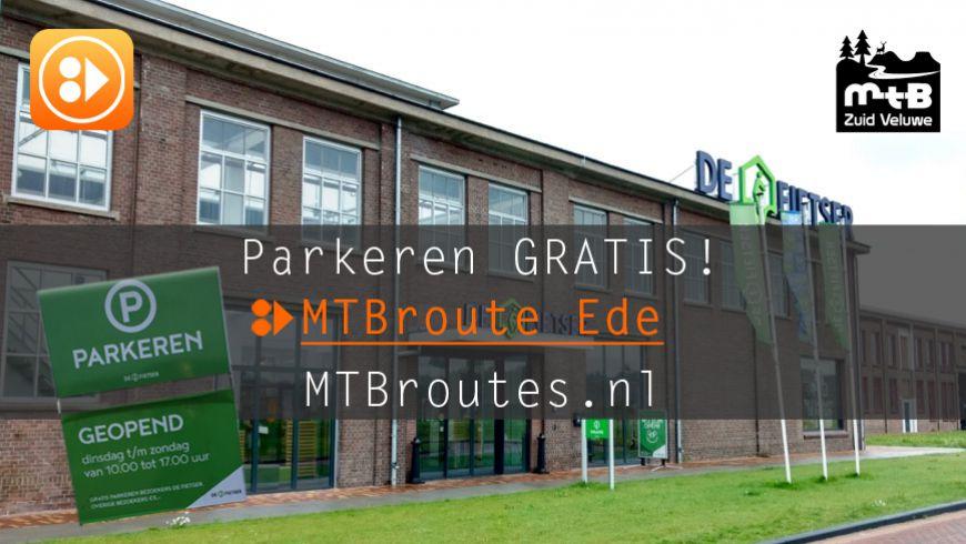 Parkeren MTB route Ede gewoon gratis