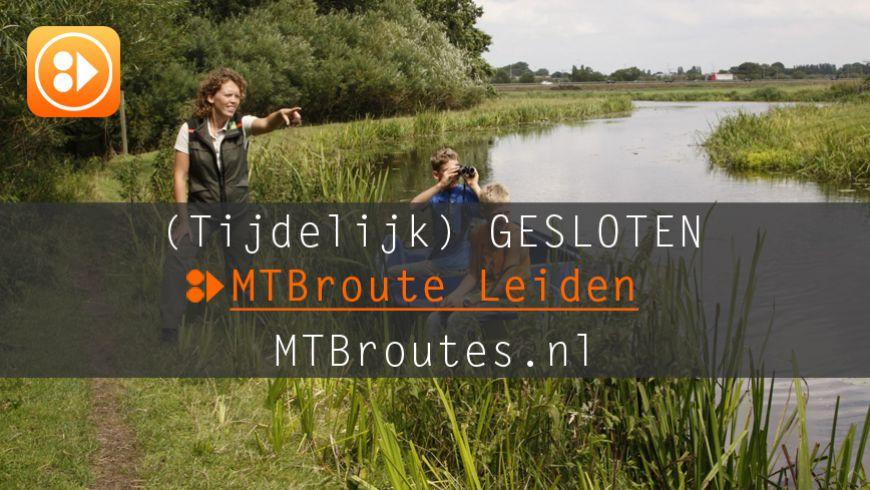 MTBroute Leiden tijdelijk gesloten