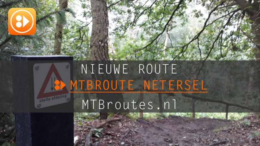 Nieuwe route in Netersel