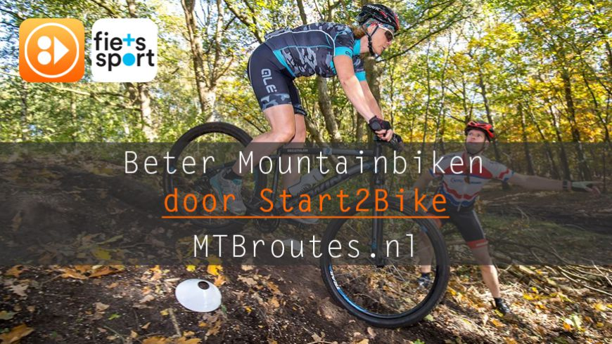 Beter mountainbiken door Start2Bike