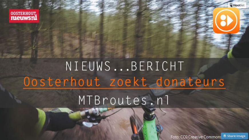 MTB Tracks zoekt donateurs voor onderhoud