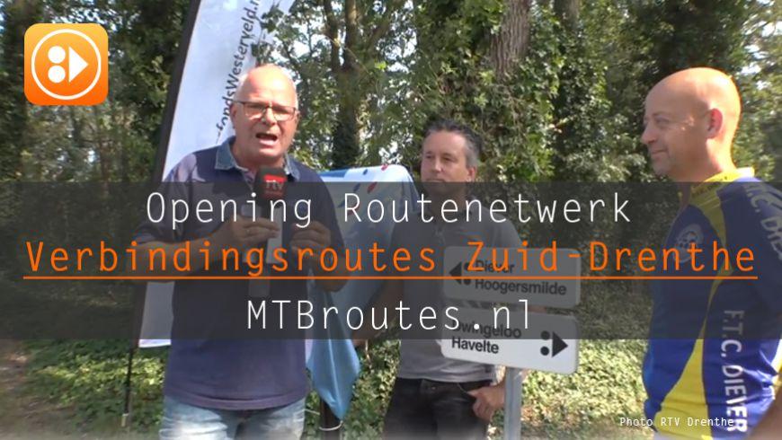 Verbindingsroutes in Zuid-Drenthe