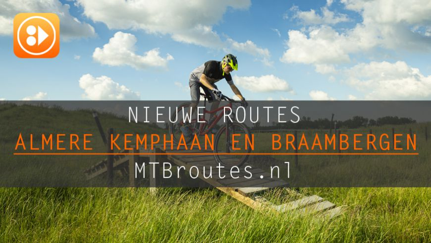 Nieuwe routes in Almere