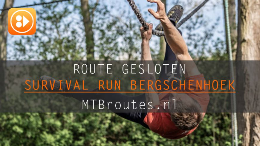 Hinder door Survival Run Bergschenhoek