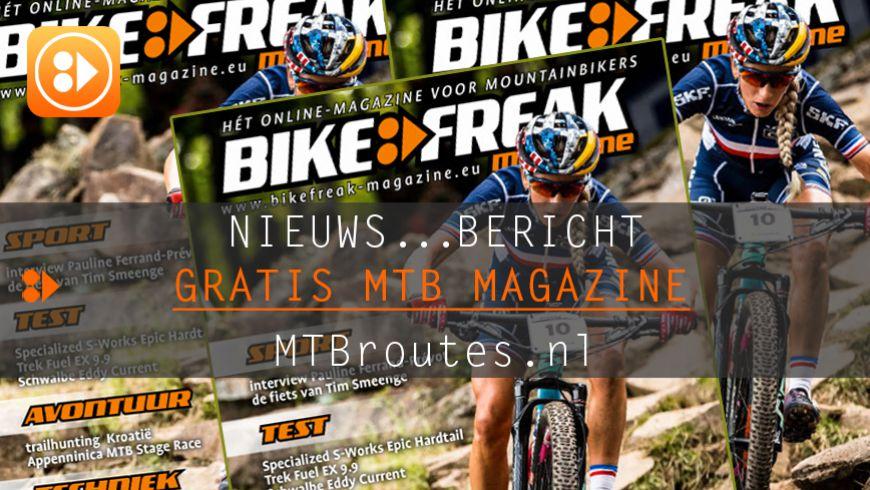 Bikefreak-magazine nummer 105 is uit!