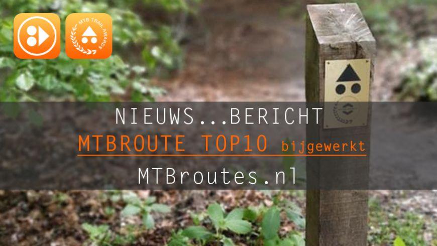MTBroute TOP10 bijgewerkt 5-10-2019