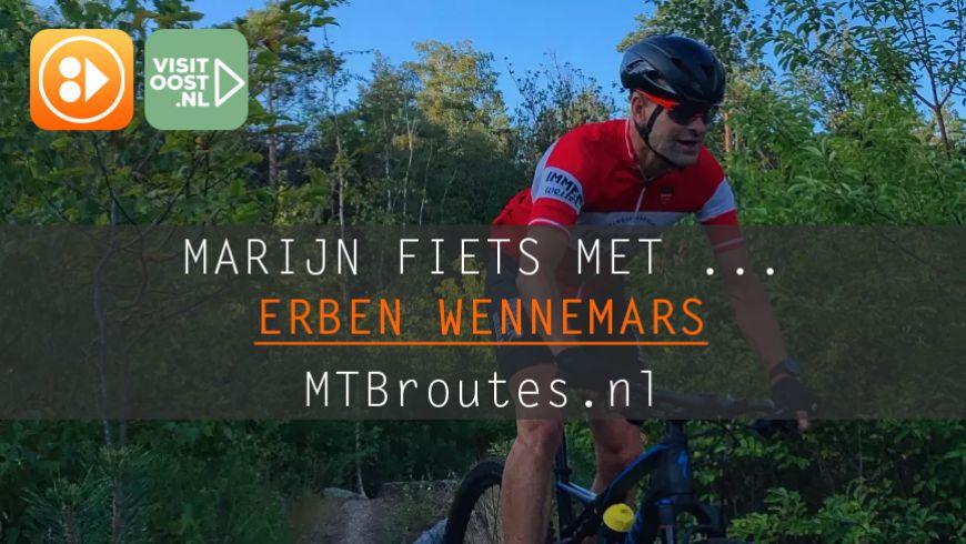 Marijn fietst met Erben Wennemars