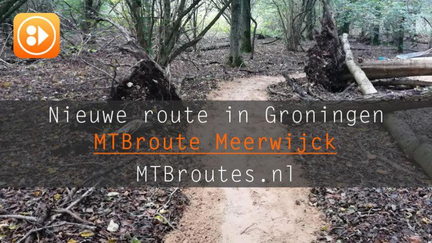MTB en Trailrun Route Meerwijck