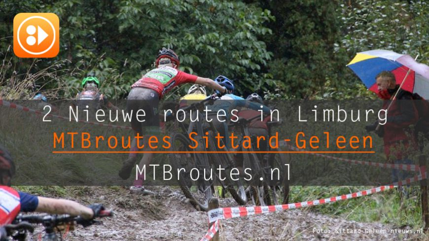 Twee nieuwe MTBroutes in Limburg