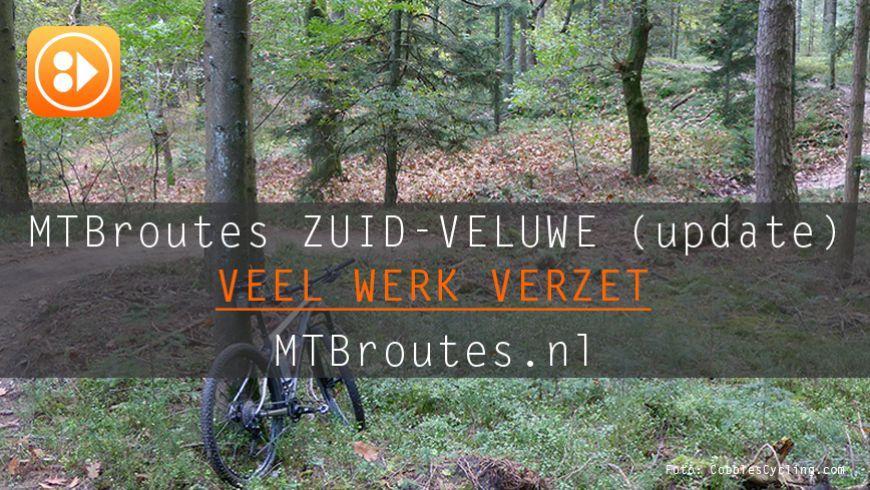 Mountainbikeroutes op de Zuid-Veluwe (update)