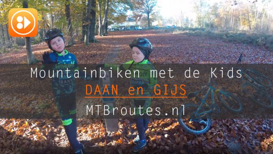 Mountainbiken met de Kids