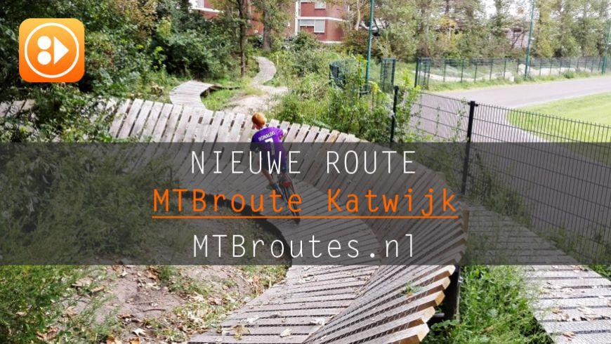 Nieuwe MTBroute: Katwijk