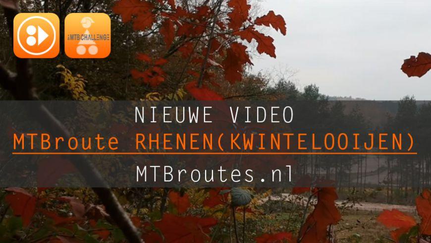 Nieuwe route video Rhenen (Kwintelooijen)