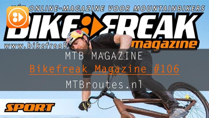 Bikefreak-magazine nummer 106 is uit!