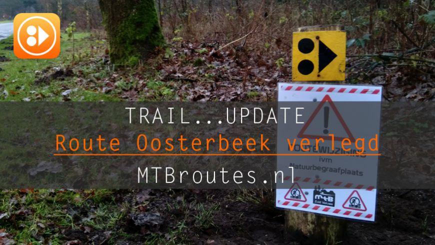 Route Oosterbeek verlegd!