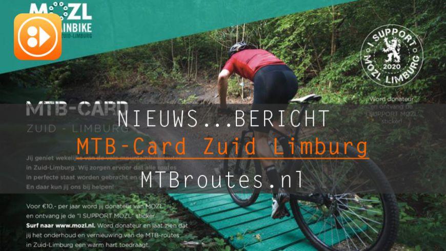 MTB-Card Zuid-Limburg krijgt vervolg in 2020