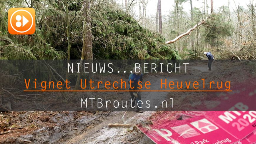 MTB Vignet Nationaal Park Utrechtse Heuvelrug 2020