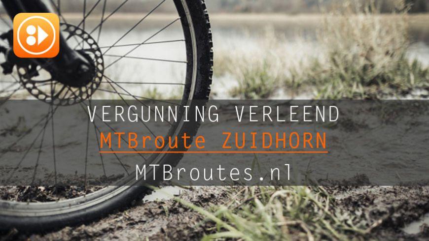 Vergunning verleend MTBroute Zuidhorn
