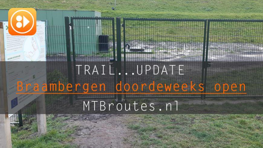 MTBroute Braambergen ook doordeweeks open