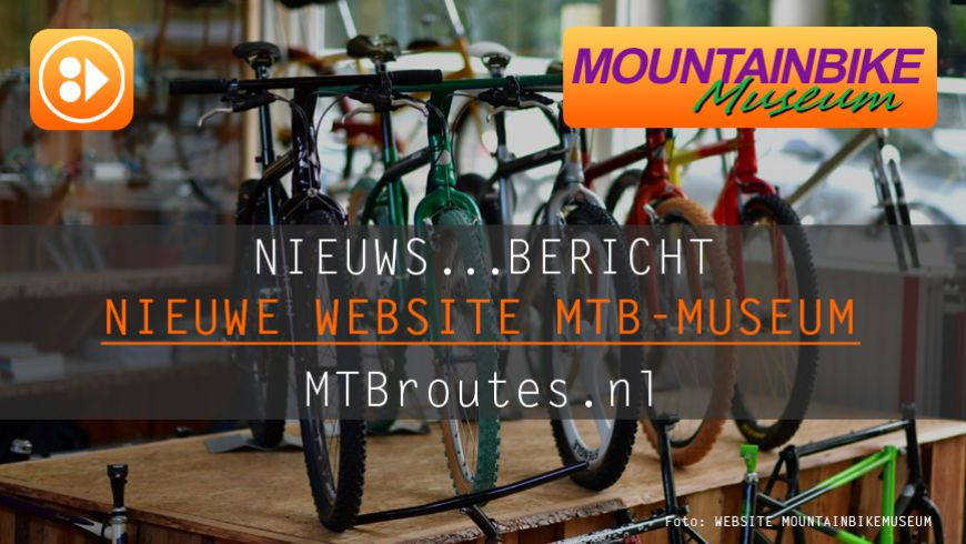 Nieuwe website Mountainbikemuseum