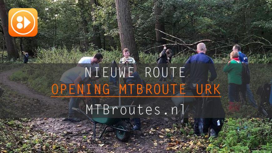 6,5 kilometer mountainbikeroute door het Urkerbos