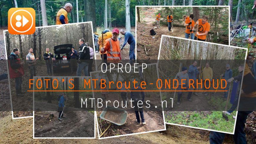 Foto's MTBroute Onderhoud