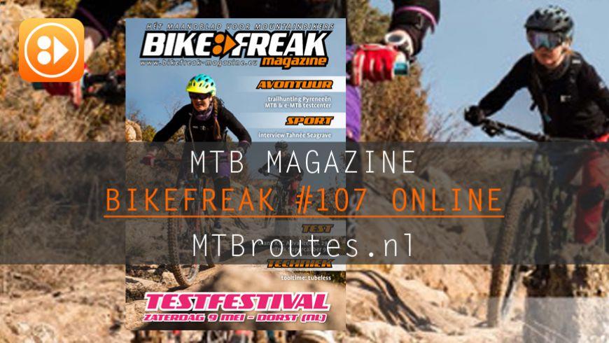 Bikefreak-magazine nummer 107 is uit!