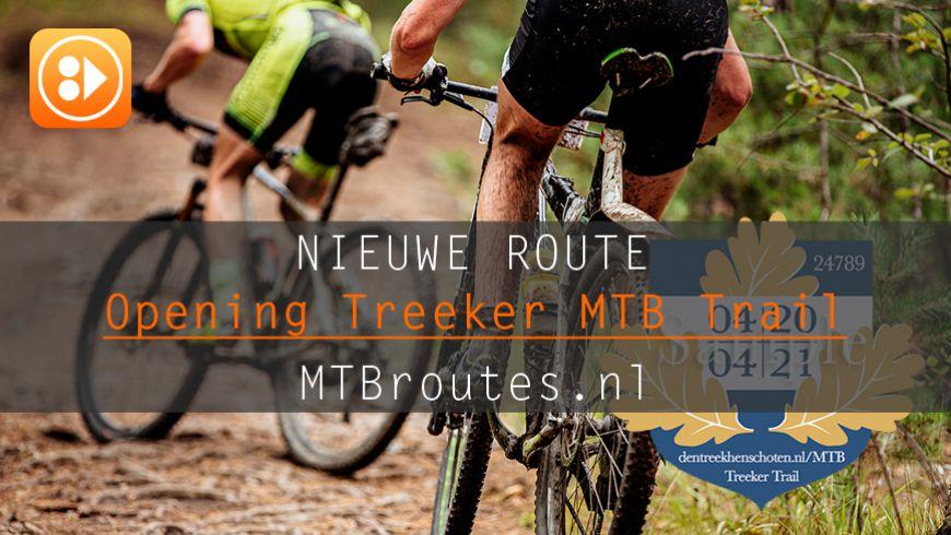 Treeker MTB Trail open vanaf 1 april 2020