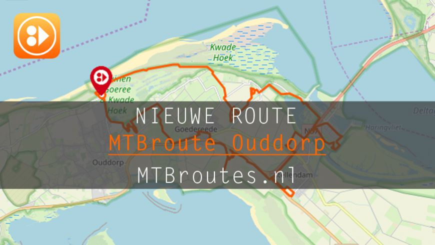 Nieuwe MTBroute Ouddorp