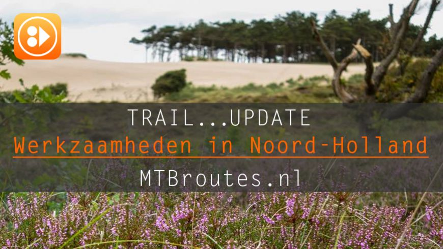 Route werkzaamheden in Noord-Holland